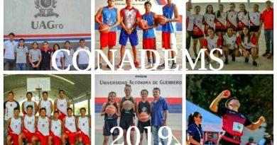 Jóvenes de la UAGro participan en juegos deportivos nacionales.