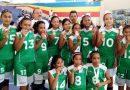 Coyuca gana oro para Guerrero en baloncesto femenil escolar.